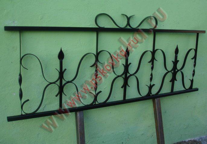 Сварные оградки